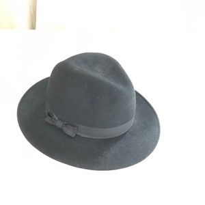 Accessories - Black Festival Hat with Little Bow